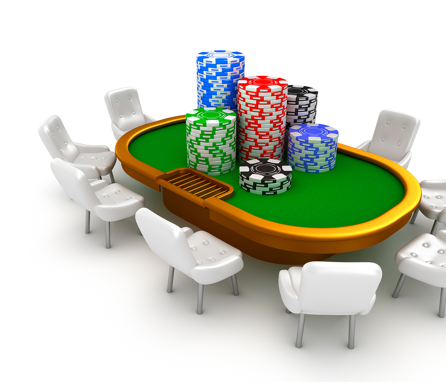 bigstock Gambling poker table with chai 40943983 Pokervinnare